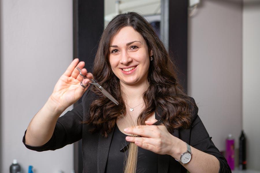 Franziska Braun - Inhaberin von Friseur Haarwerk
